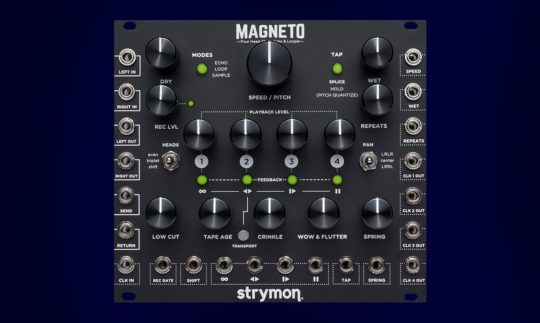 Test: Strymon Magneto, Digital Tape Delay für Eurorack