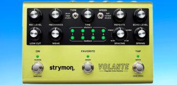 NAMM News 2019: Strymon Volante, Effektgerät