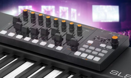 Test: Studiologic SL Mixface, USB/Bluetooth-/DAW-Controller