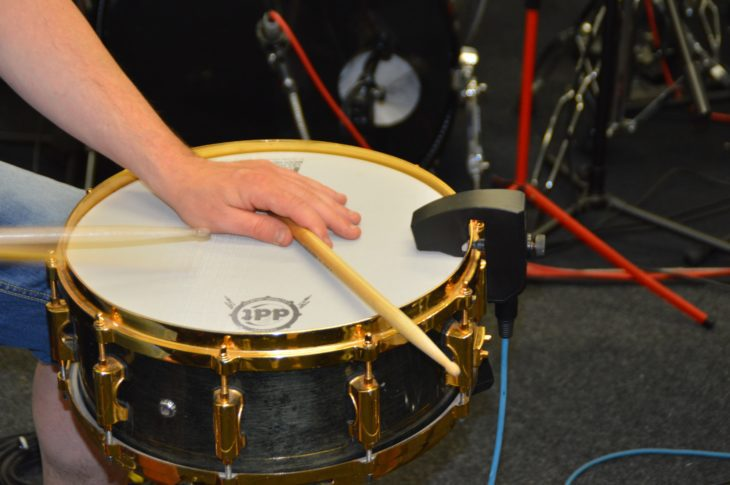 Sunhouse Sensory Percussion - verschiedene Spieltechniken