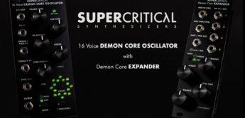 Supercritical Synthesizers Demon Core, Modul mit 16 Oszillatoren