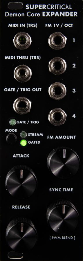 Supercritical Synthesizers Demon Core Oscillator - exp-product