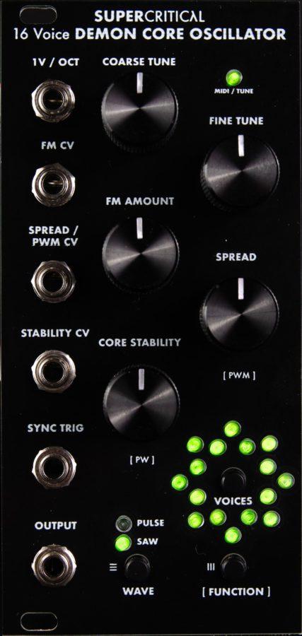 Supercritical Synthesizers Demon Core Oscillator - osc-product
