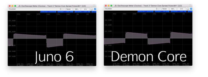 Supercritical Synthesizers Demon Core Oscillator - Pulse Juno 6-DEMON CORE