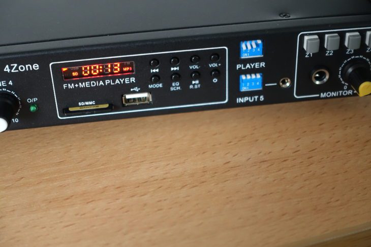 Swissonic 4Zone Media-Player