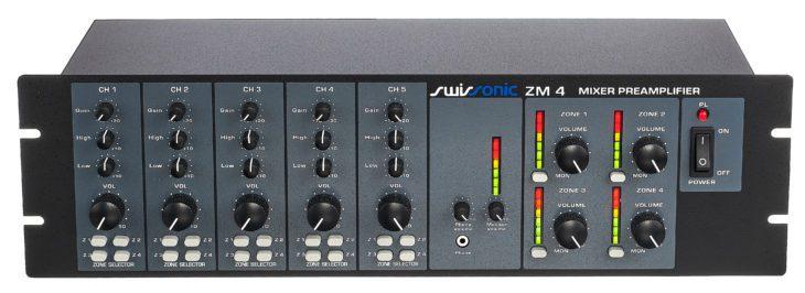 Swissonic ZM 4 Zonenmixer