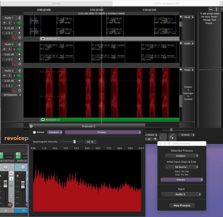 Syncho Arts Revoice Pro 4 Analyzer