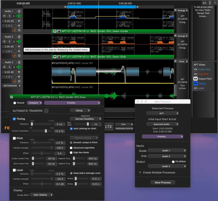 Syncho Arts Revoice Pro 4 APT Prozess