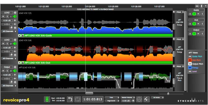 Test: Synchro Arts Revoice Pro 4 - Time & Pitch-Korrektursoftware