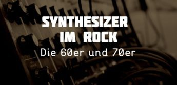Der Synthesizer in der Rockmusik