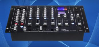 Test: the t.mix 402-USB Play, DJ-Mixer