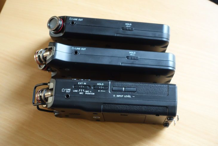Tascam DR-05X, DR-07X, DR-40X links