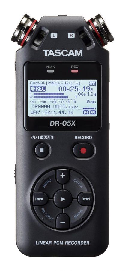 Tascam DR-05X Front