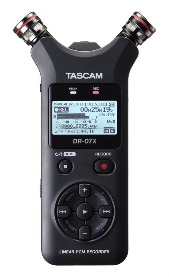 Tascam DR-07X Front AB