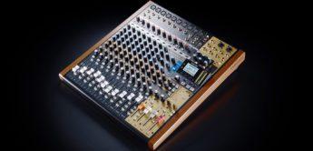 Tascam präsentiert Model 16 – analoges Mischpult, Recorder und Audiointerface