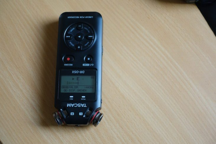 Tascam DR-05X Stimmgerät