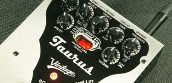NAMM News 2019: Taurus Stomp-Head, Gitarrenpreamp