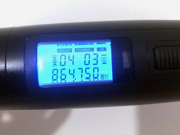 Batterielebensdauer ca. 10 Stunden