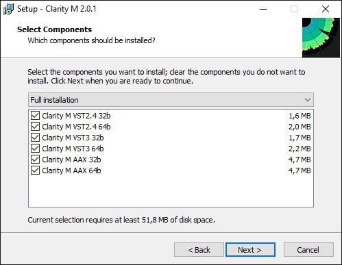 TC Clarity M Stereo Instalation