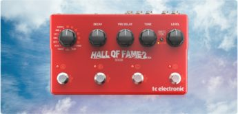 Test: TC Electronic Hall of Fame 2 X4, Reverb Pedal