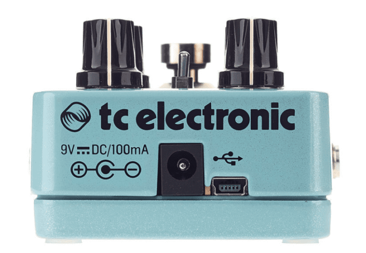 TC Electronic Quintessence Harmony USB Stirn