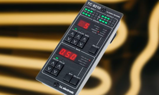 Test: TC Electronic TC8210-DT Classic Reverb, Plugin mit Hardware-Controller