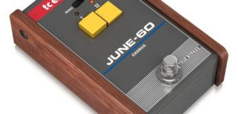 TC Electronic June 60, ein Roland Juno-60 Chorus Clone