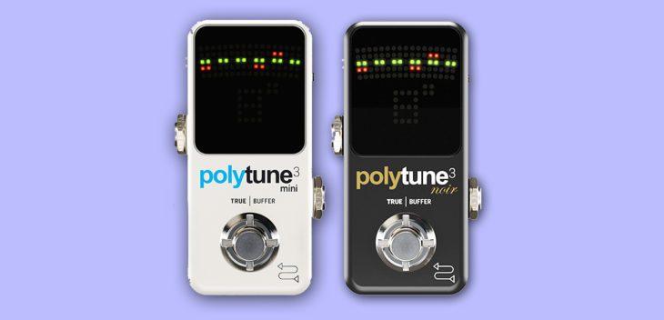 TC Electronic präsentiert Polytune 3 und Polytune 3 Noir