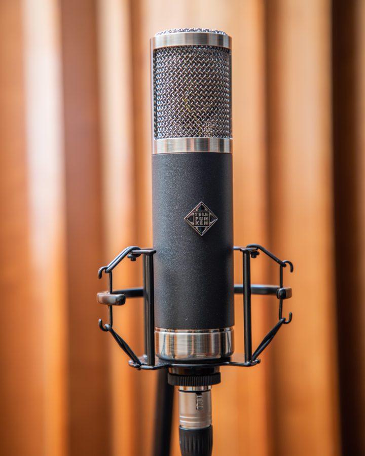Telefunken TF47 in studio 1