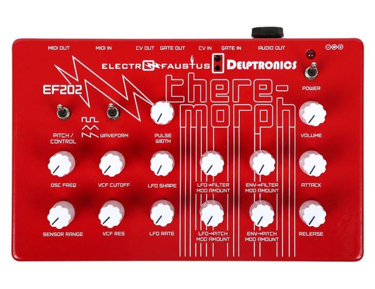 Delptronics Theremorph red