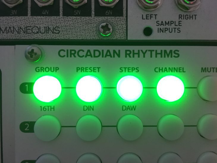 Tip Top Audio Circadian Rhythms Group Preset Steps Channel