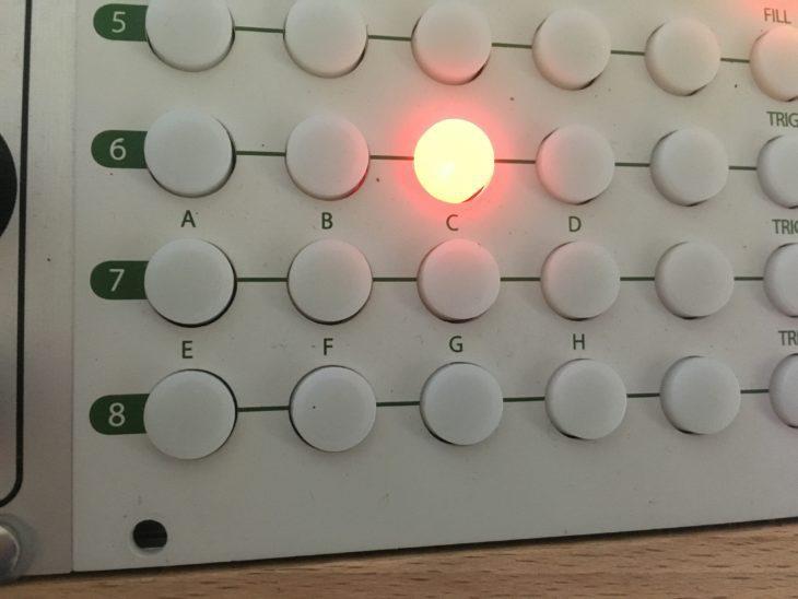 Tip Top Audio Circadian Rhythms Manual Trigger