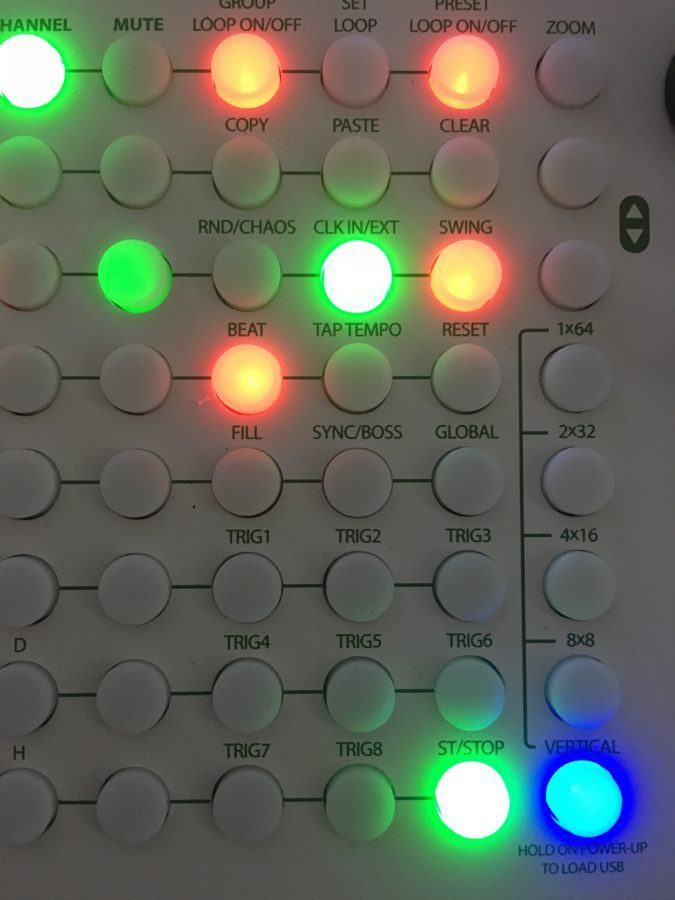 Tip Top Audio Circadian Rhythms Vertical Mode