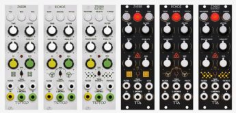 News: Tiptop Audio bringt ZVERB, ECHOZ & Z5000 FX-Module