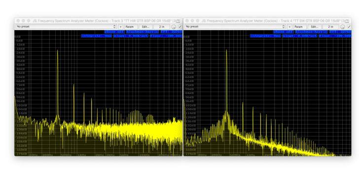 Tube-Tech CL1B Vergleich - Sinus 440Hz, -180db FS