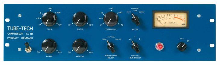Es treten an: Lydkraft Tube-Tech CL1B Hardware…
