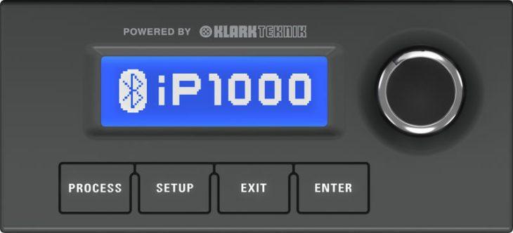 Turbosound iP1000 - Display
