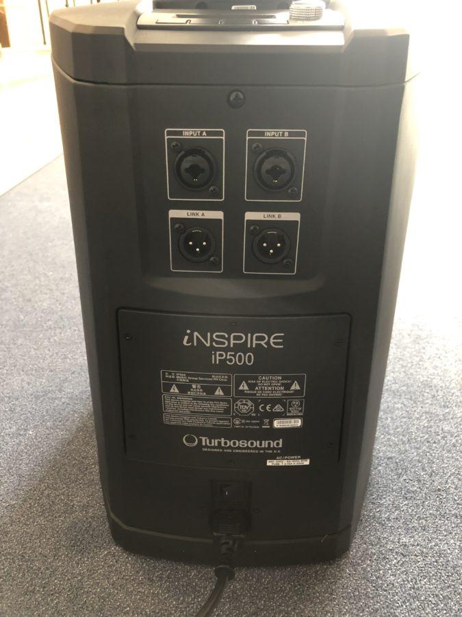Turbosound iP500 - Woofer Rueckseite