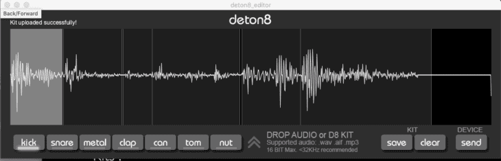 Twisted Electrons deton8-SampleEditor