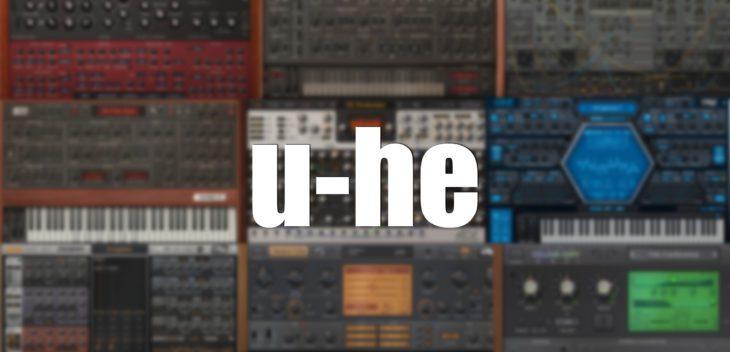 u-he synthesizer effekt plugins