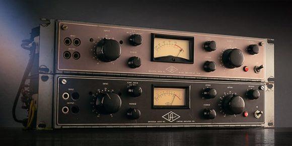 universal audio uad 9-10 ua175 ua176 tube compressor