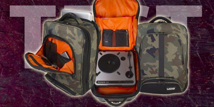 UDG Ultimate Backpack Slim Black Camo