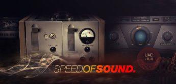 Universal Audio stellt mit 9.8 die Plugins V76 Preamp, Auto-Tune Advanced und Diezel Herbert vor