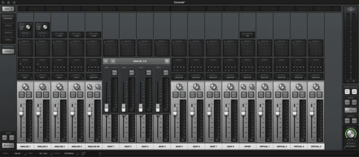 Universal Audio Apollo x6 Cpnsole AUX und CUE