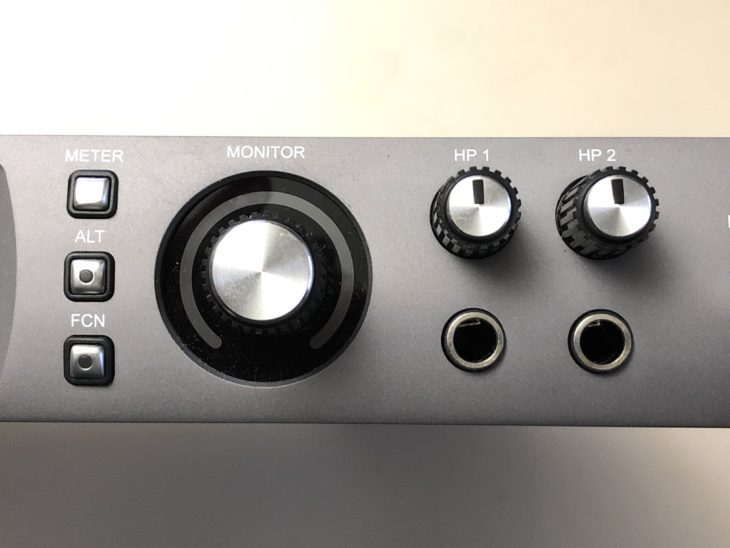 Universal Audio Apollo x6 Meter, ALT, FCN, HP