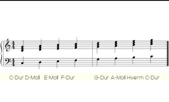 Die wichtigsten Gitarrenakkorde für dutzende Songs