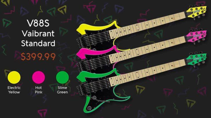 NAMM 2019: Traveler Guitar präsentiert die Vaibrant Serie