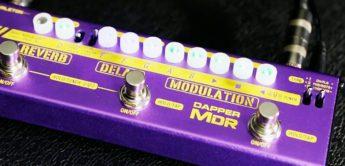 Test: Valeton Dapper MDR, Gitarren Multieffekt Pedal