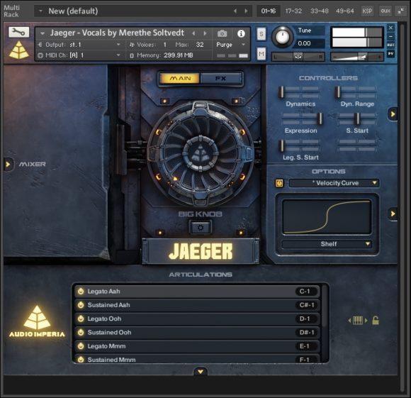 Vocals - Audio Imperia - Jaeger