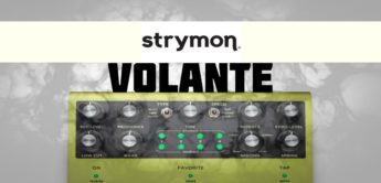 Test: Strymon Volante Magnetic Echo, Gitarren Delay Pedal